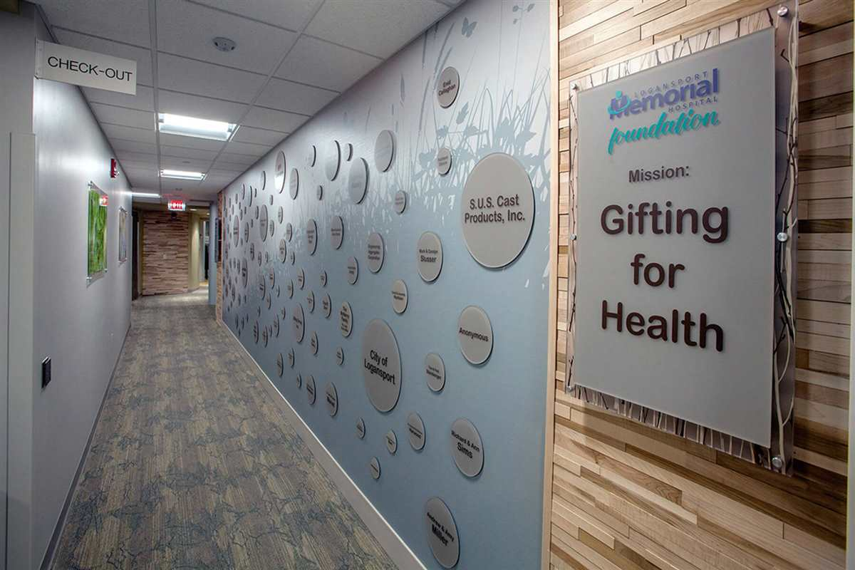 Cancer Care Foundation Wall
