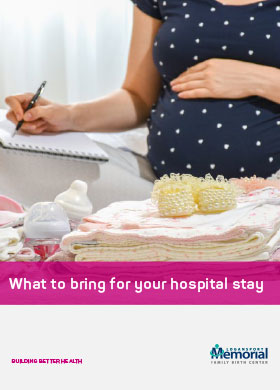Labor and Delivery Packing Checklist