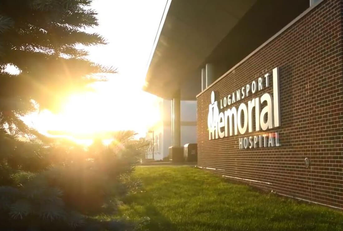 Logansport Memorial Hospital building exterior